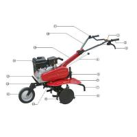 Buy cheap GT-60 GX-85( with reverse) Gasoline Tiller from wholesalers