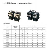 Buy cheap Contactor LC2-D Series Mechanical Interlocking Contactor from wholesalers