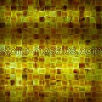 Buy cheap honey onyx mosaic tile 157 from wholesalers