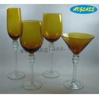 Buy cheap glass candle holder(AK0183) from wholesalers