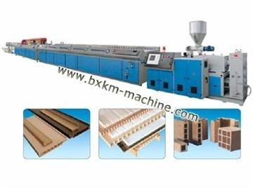 wpc profile extrusion line of bxkm machine. Black Bedroom Furniture Sets. Home Design Ideas