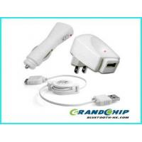 Buy cheap USB Cable+Car+Wall Charger For iPhone iPod Nano To from wholesalers