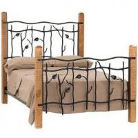 Buy cheap Sassafras Hand Forged Iron and Pine Bed from wholesalers