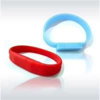 Buy cheap Rubber wrist band, embedded US from wholesalers