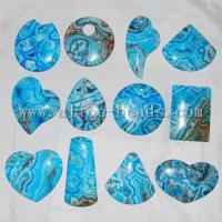 Buy cheap Blue Crazy Lace Agate Pendant Bead product