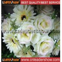 Buy cheap White chrysanthemum with rose from wholesalers
