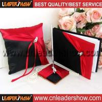 Buy cheap Red with black wedding sets from wholesalers