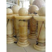 Buy cheap Sculpture yellow onyx fountainWe supply fountain, large or small, with material marble, granite, onyx etc. With some existing sample styles avialble for choice, and also accept customerized designs. Welcome contact us with your idea product