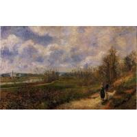Buy cheap Impressionist(3830) Pathway_at_Chou,_Pontoise product