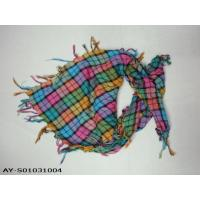 Buy cheap mixed colour lady good design scarfs from wholesalers