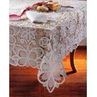 Buy cheap organdy tableclothWe are factory and exporter of tablecloth, doily,placemat, showercurtain, kitchen curtain,curtaijbed sheet sets, bed cover,cushion cover, tissue box coveretc. Such as Battenlace tablecloth, crochet tablecloth, from wholesalers