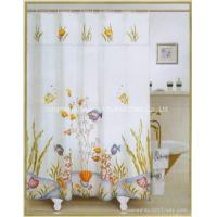 Buy cheap printed shower curtain from Wholesalers