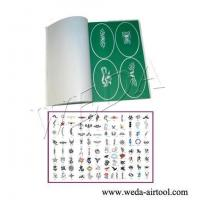 China Airbrush Tattoo Stencil and Ink 2 on sale