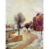 Buy cheap Impressionist(3830) Suburb under Snow product