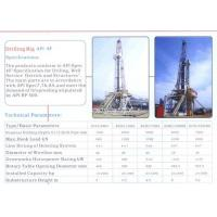 Buy cheap Drilling pipe Drilling Rig/Mud Pump product