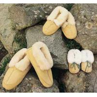 Buy cheap Sheared sheep skin Department Sheepskin Twin-face Slippers from wholesalers