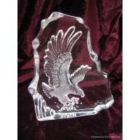 Buy cheap glass paperweights/glass animals decorative crystal from wholesalers