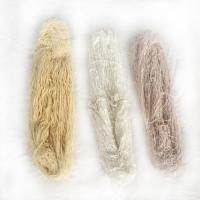 Woven textile yarn category Chenille stick clear