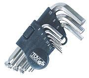 Buy cheap Hex Key Set VT105001 L-type with holder hex key wrench set with nickel or black nickel finish from wholesalers
