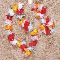 Buy cheap Hawaii product(SZ)(22) Product NameSimulated Silk Flower Leis from wholesalers