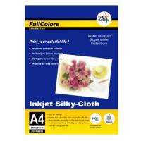 Buy cheap FullColors PHOTO PAPER 80gsm Inkjet silky-cloth from wholesalers