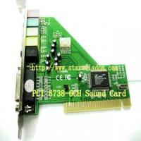 Buy cheap CMI/HT8738 6 Channels Sound Card from wholesalers