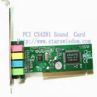 Buy cheap PCI Sound Card from wholesalers