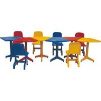 Buy cheap Kids table and chair series  JS0407 children desk and chair from wholesalers