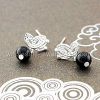 Buy cheap 925 sterling silver stud earrings jewelry from wholesalers