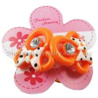 Buy cheap Kids Hair Accessory----Dotted Bow Hair Bobbles from wholesalers