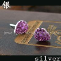 Buy cheap Wholesale 925 sterling silver stud earrings from wholesalers