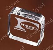 Buy cheap Round corner Paperweight from wholesalers