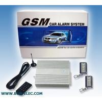 Buy cheap GSM Car Alarm With Remote Engine Start from wholesalers