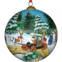 Buy cheap Christmas Ball with Inside Painting from wholesalers
