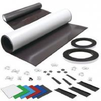 Buy cheap Flexible Rubber Magnet flexible magnetic sheets from wholesalers