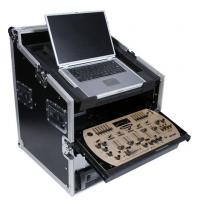 Buy cheap Flight Case LAPTOP & 4U SLANT RACK COMBO CASE from wholesalers