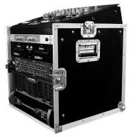 """Buy cheap Flight Case 10U SLANT MIXER RACK / 10 U VERTICAL RACK SYSTEMDimensions: Inches: 29.3"""" h X 21.3"""" w X 23.8"""" d Centimeters: 74.42 h X 54.1 w X 60.45 d Weight: 51 lbs. (23.13 kg.)Description:Good construction doesnt go out of style. Thats our MO and th product"""
