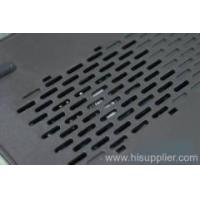 Buy cheap Hexagonal Wire Meshes Slotted Hole Perforated metal mesh from wholesalers