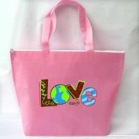 Buy cheap Nonwoven Bag Item:Love Our Earth Nonwoven handbag product