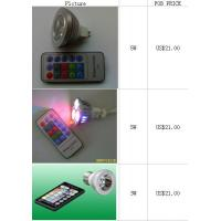 Buy cheap Led Lamps Remote Control Led Color Light / lamp / Bulb from wholesalers