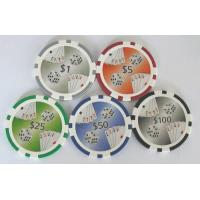 Buy cheap poker chips DICE ACE from wholesalers