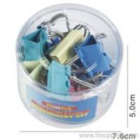 Buy cheap Tub Packing Colour Binder clips SETS from wholesalers