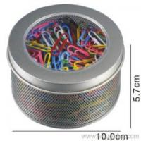 Buy cheap Blister cards color vinyl coated paper clips color vinyl coated paper clips from wholesalers