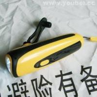 Buy cheap Single product Hand-cranked Flashlight from wholesalers