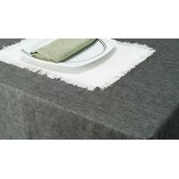 Buy cheap Table Cloth Cotton Hemp Blended Textile product