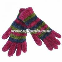 Buy cheap knitted magic glove feather yarn magic mitten  GL8-00925 from wholesalers