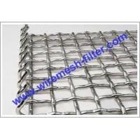 Buy cheap Hookstrip Flat Screen Crimped Wire Mesh Crimped Wire Mesh product