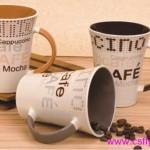 Buy cheap Hand-painted products Stoneware Decal Mug from wholesalers