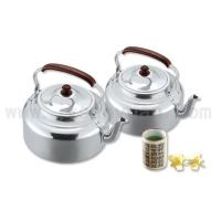 Buy cheap Refined Aluminum Colorful handle refined aluminum kettleITEM NOJBS/HB-112-128 from wholesalers