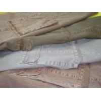 Buy cheap finished clothing dyeing-twill from wholesalers
